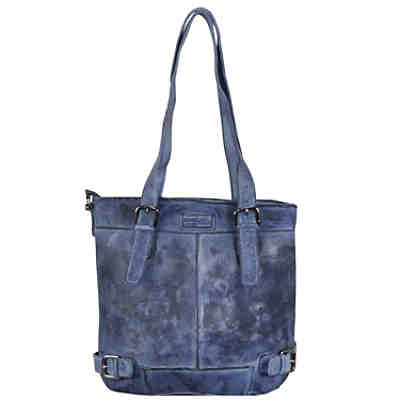 Greenland Femi & Nine Color Shopper Tasche Leder 37 cm