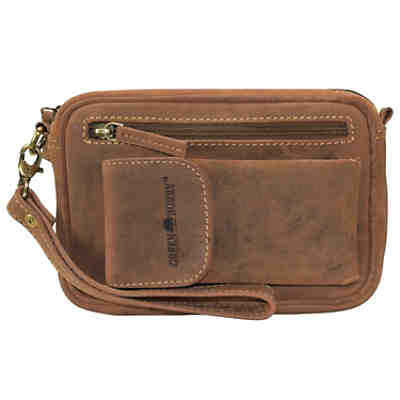 Greenburry Vintage Herrentasche Leder 22 cm
