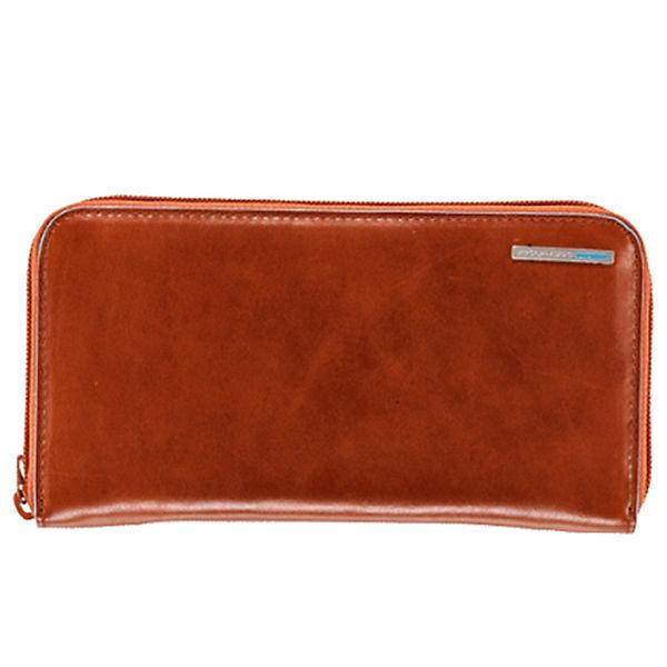 Piquadro Piquadro Blue Square Geldbörse Leder 19 cm orange