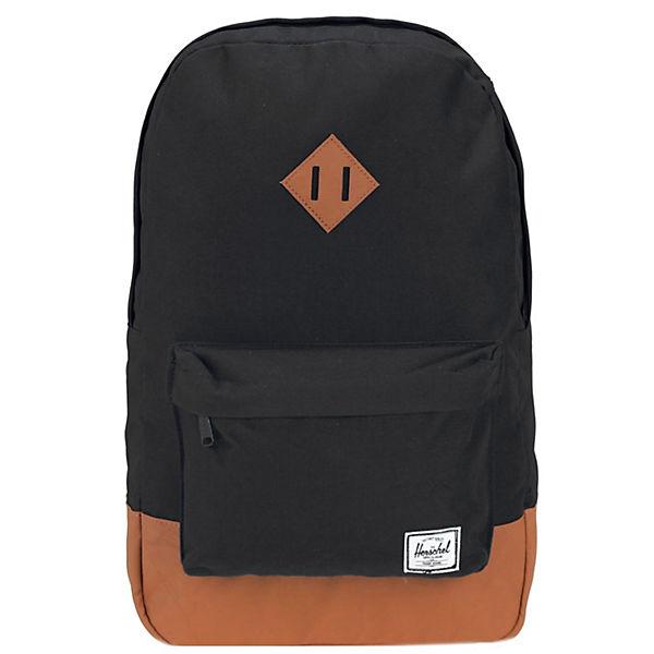 Cm Rucksack Mid Laptopfach Schwarz Backpack Herschel Heritage Volume 40 PiXOukZT