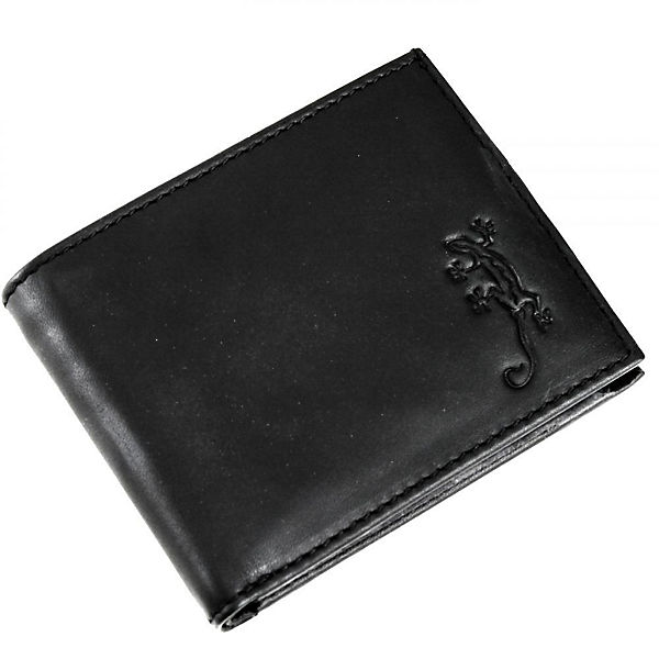 oxmox Leather Pocket-Geldbörse Leder 10,5 cm