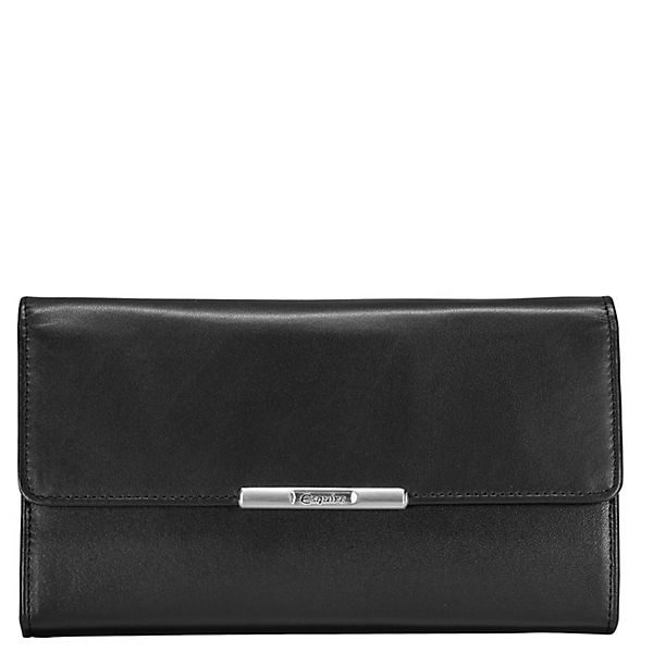 Esquire Esquire Helena Geldbörse Leder 18 cm schwarz
