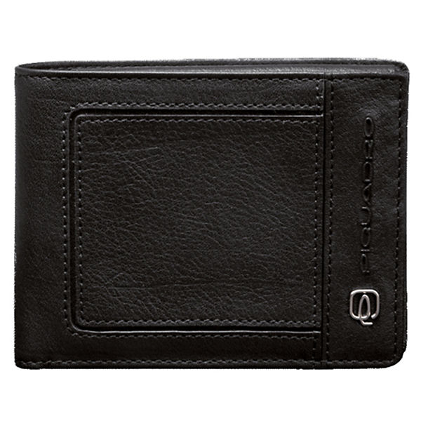 Piquadro Piquadro Vibe Geldbörse Leder 12,5 cm schwarz