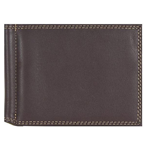Mywalit Mywalit Money Clip Wallet Geldbörse Leder 10 cm mehrfarbig