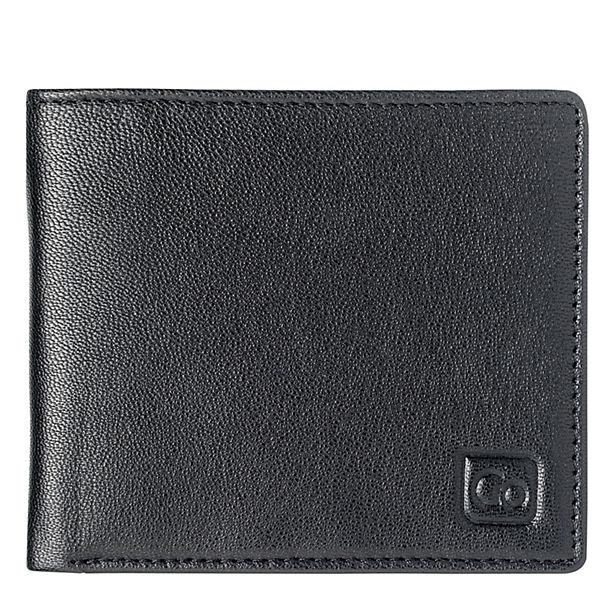 Go Travel Go Travel Geldbeutel + Geldgürtel RFID Geldbörse Leder 11 cm schwarz