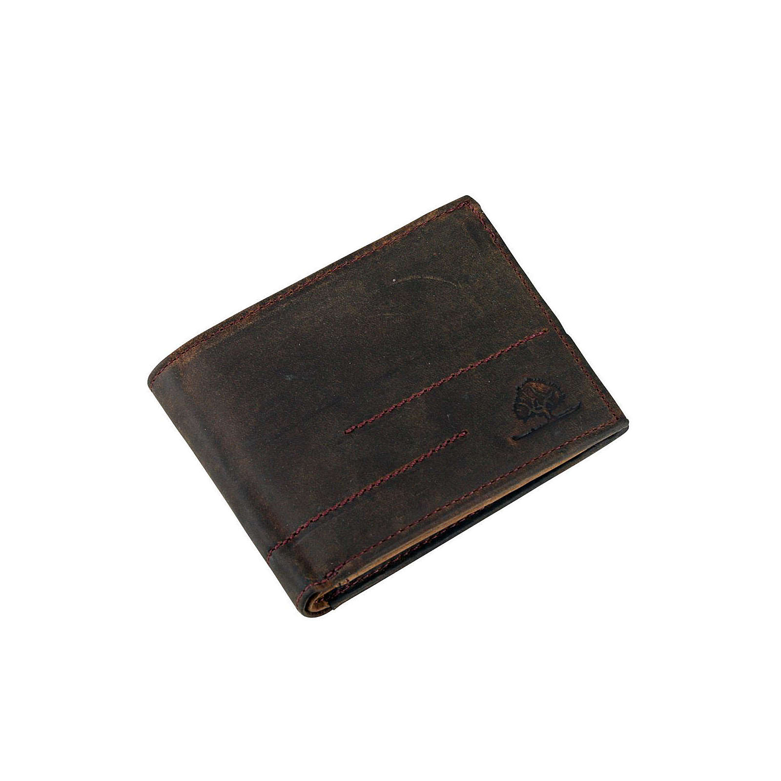 Greenburry Vintage Revival Vol.2 Geldbörse Leder 12 cm braun Herren