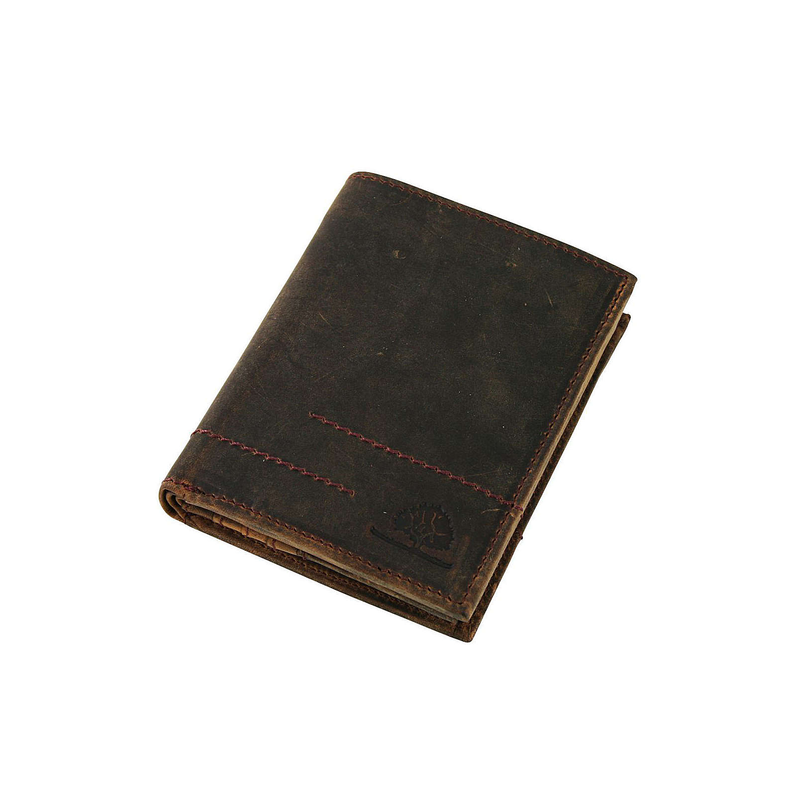 Greenburry Vintage Revival Vol.2 Geldbörse Leder 10 cm braun Herren