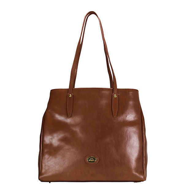 The Bridge Story Donna Shopper Tasche Leder 32 cm
