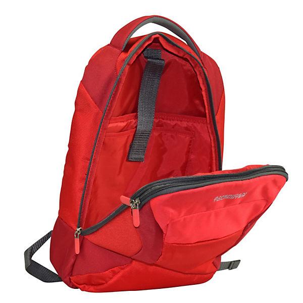 American Tourister Amerian Tourister Road Quest Rucksack 43 cm Laptopfach rot
