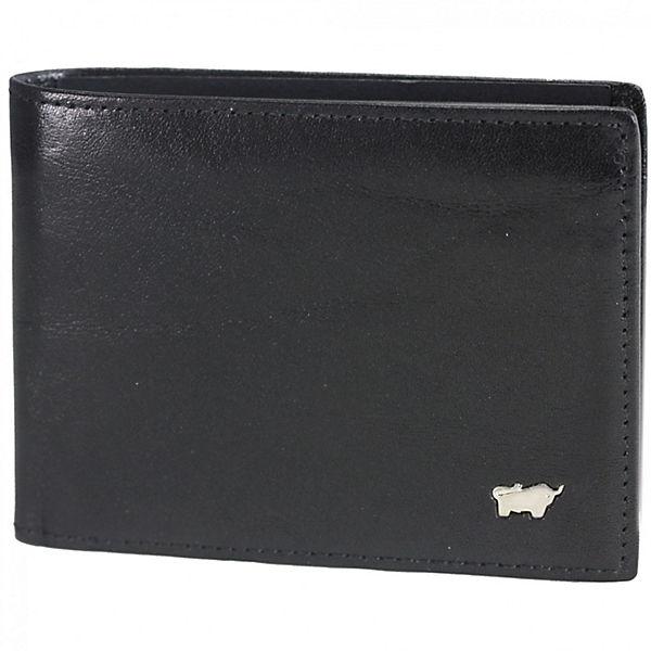 Braun Büffel Braun Büffel Basic Geldbörse Leder 11 Cm Schwarz