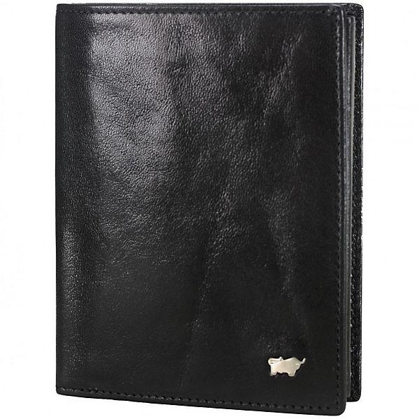 Braun Büffel Braun Büffel Basic Geldbörse Leder 9,5 cm schwarz