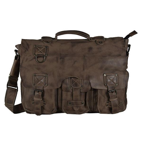 Kathlow Angebote Billy the Kid Panamerica Messenger Bag Leder 41 cm braun Damen