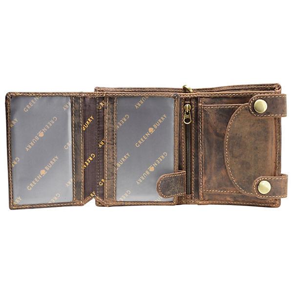 Indian Vintage Leder 10 Braun Geldbörse Cm Greenburry 5R3q4AjL