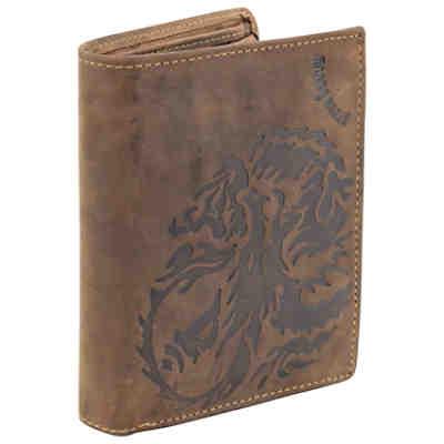 1a15eef756f3d ... Greenburry Vintage Dragon Geldbörse Leder 10 cm 2