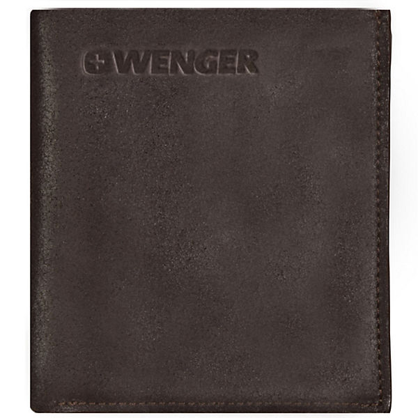 Wenger Wenger Foggy Geldbörse Leder 10 cm braun