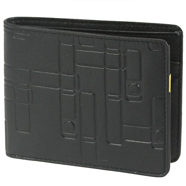 Delsey Delsey Echappée Geldbörse Leder 11,5 cm schwarz