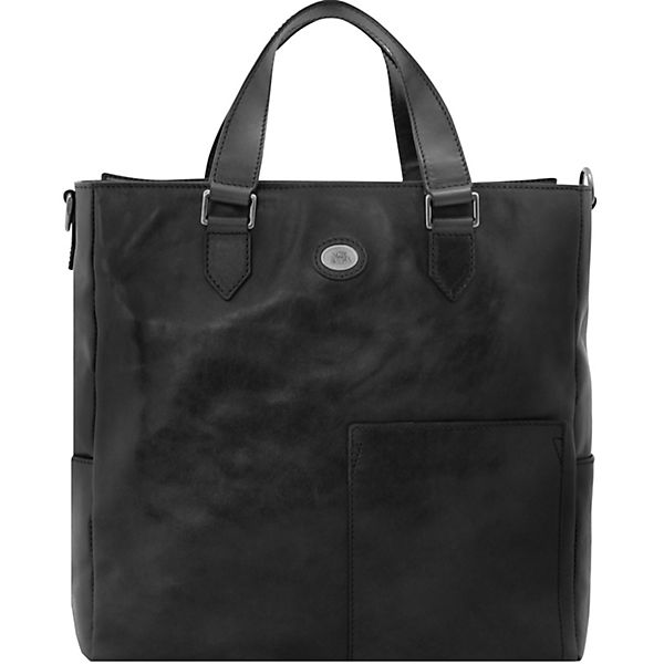 The Bridge Bureau Aktentasche Leder 37 cm Laptopfach
