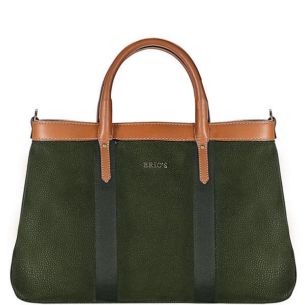 Bric's Bric's Life Shopper Tasche 36 cm grün