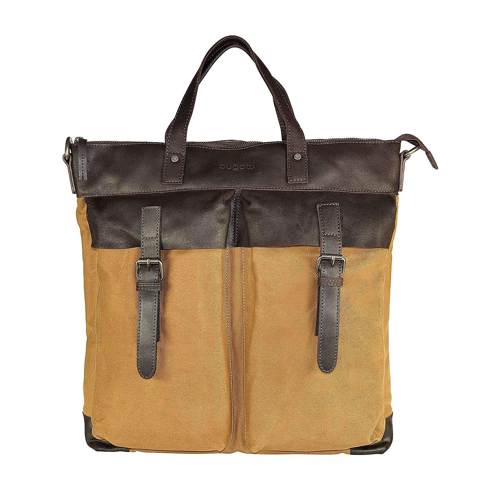 bugatti Urbano Handtasche 39 cm gelb Herren