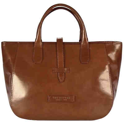 The Bridge Plume Soft Donna Shopper Leder 31 cm