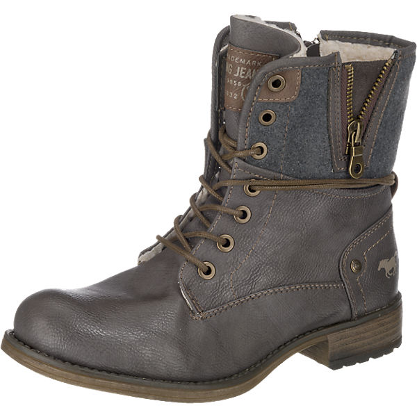 MUSTANG MUSTANG MUSTANG MUSTANG dunkelgrau Stiefeletten fxSTOxqw5a