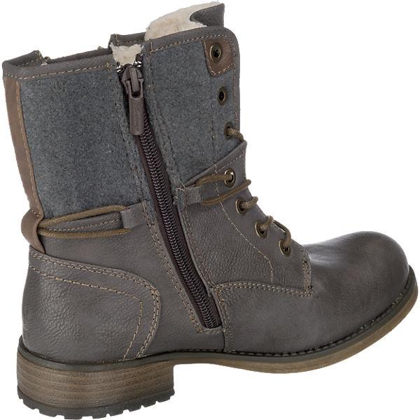 MUSTANG, Gute MUSTANG Stiefeletten, dunkelgrau  Gute MUSTANG, Qualität beliebte Schuhe 3a5183