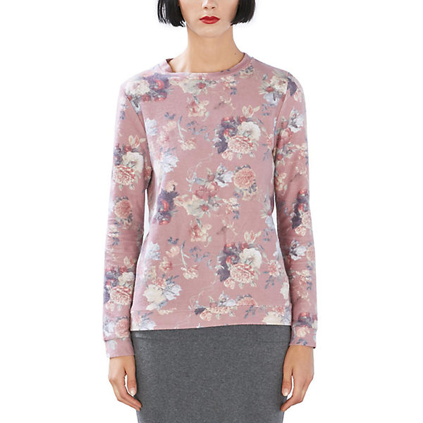 edc Sweatshirt by ESPRIT by edc ESPRIT rosa Sweatshirt 16w57qTOYa