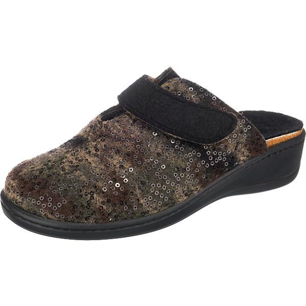 Franken-Schuhe Franken-Schuhe Hausschuhe grau