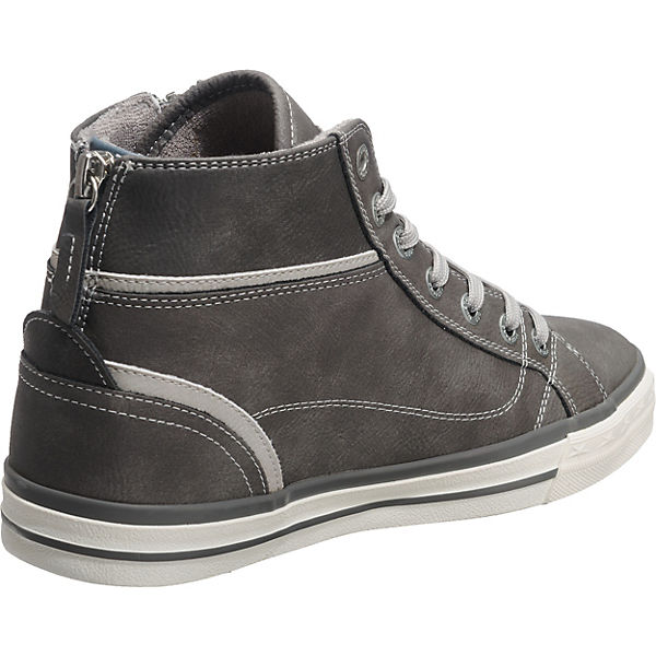 MUSTANG grau Sneakers High Sneakers MUSTANG grau grau High MUSTANG Sneakers Sneakers High MUSTANG Ifgwq7xH