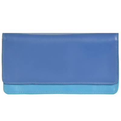Mywalit, Medium Matinee Wallet Geldbörse Leder 17 cm Portemonnaies, blau