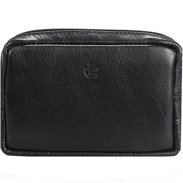 Esquire Esquire Eco Gürteltasche Leder 12,5 cm schwarz