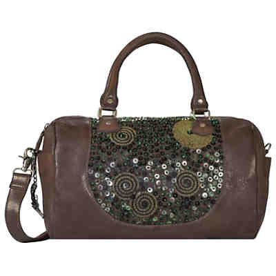 Billy the Kid Zari Handtasche Leder 36 cm
