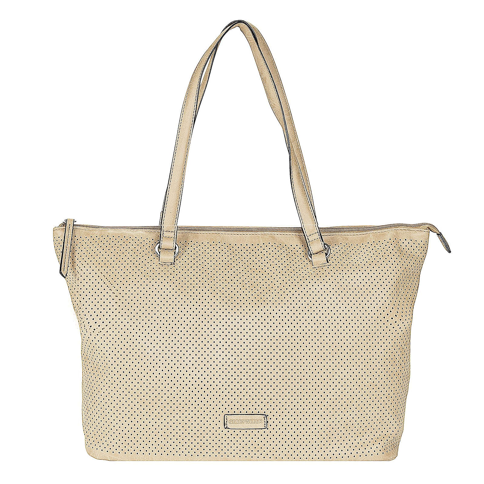 Team Spirit Shopper Tasche 36 cm Gerry Weber taupe - broschei
