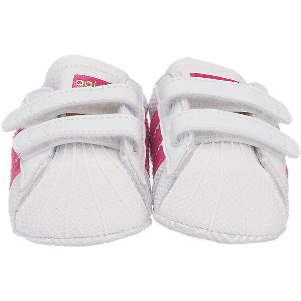 adidas Originals adidas Originals Superstar Crib Krabbelschuhe weiß-kombi