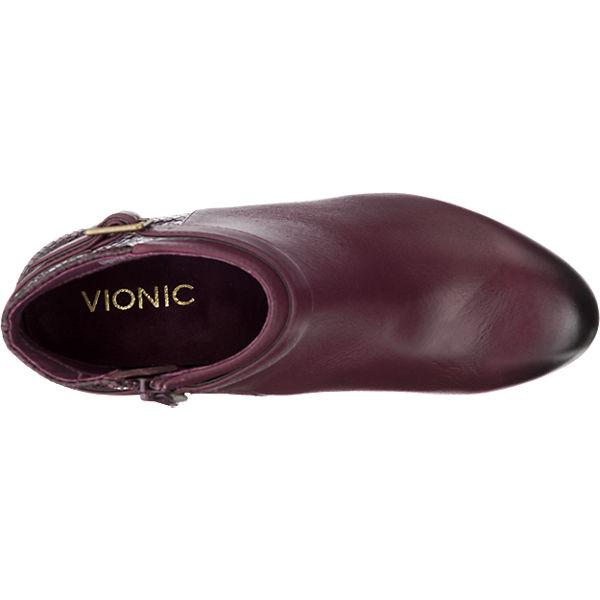 Vionic VIONIC Shasta Stiefeletten bordeaux
