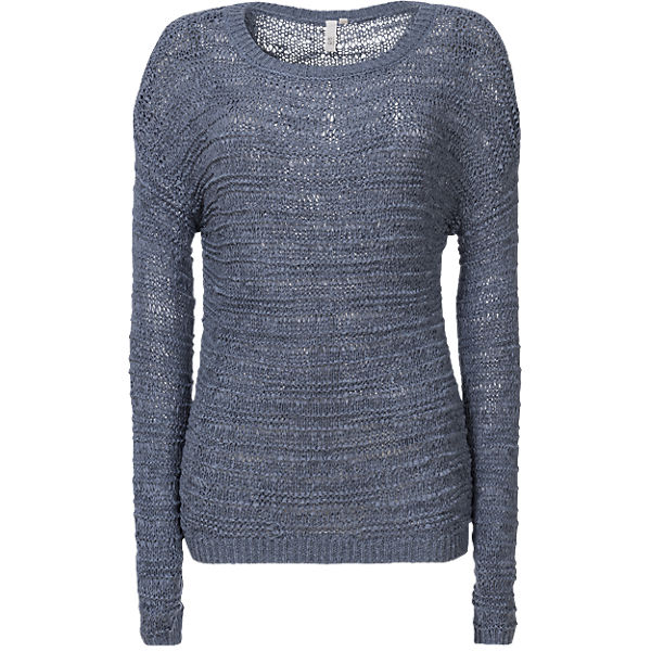 Q Q S blau Pullover S SXPppzqxw
