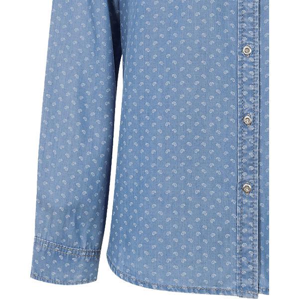 Bluse Bluse Oliver s blau blau s Oliver s xUSvHwqT
