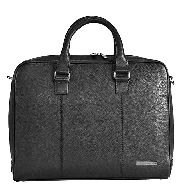 Samsonite Samsonite Equinox Aktentasche Leder 39 cm Laptopfach schwarz