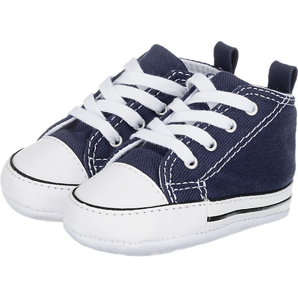 Krabbelschuhe FIRST STAR HI NAVY