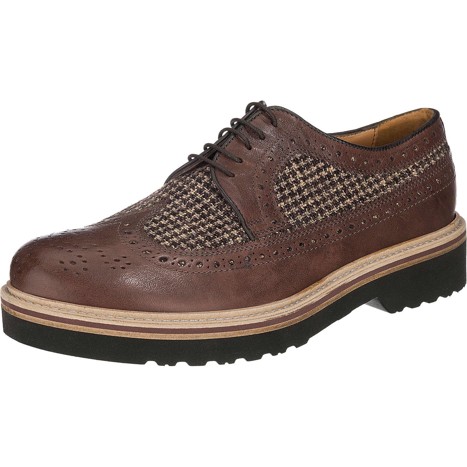 ANTICA CUOIERIA Freizeit Schuhe braun Herren Gr. 43