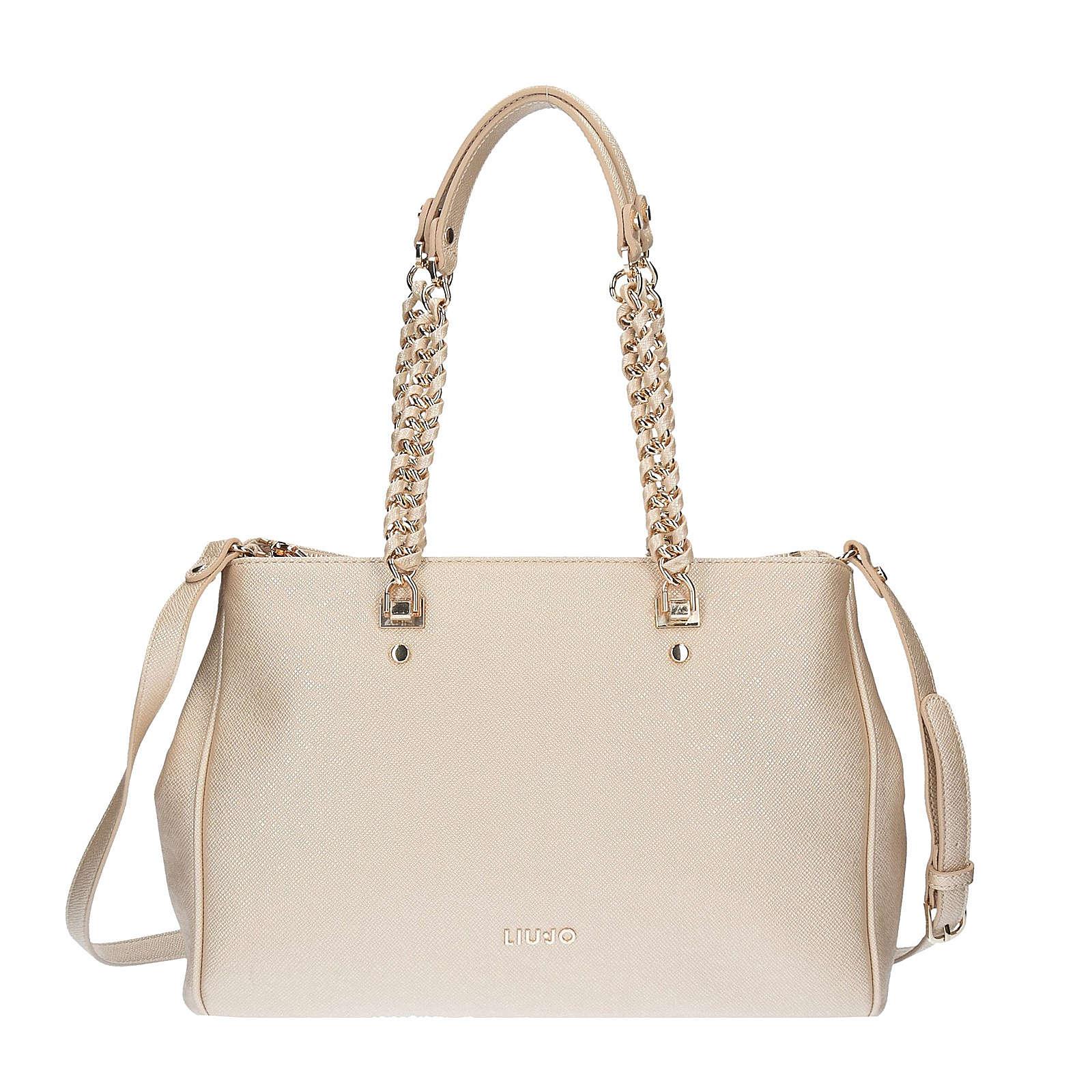 LIU JO Shopping Anna Shopper Tasche 34 cm beige...