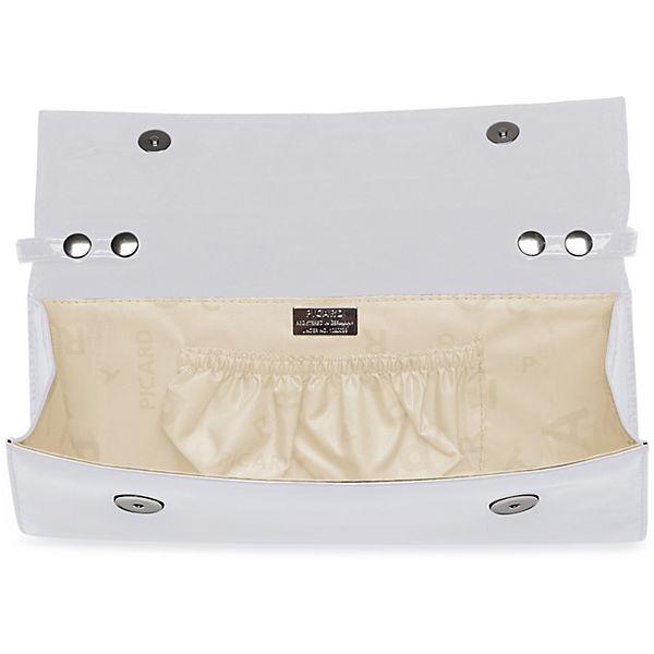 PICARD PICARD Auguri Damentasche Leder 26 cm weiß