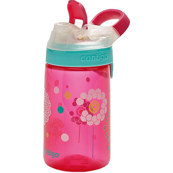 Trinkflasche Gizmo Sip Cherry Blossom Dandelion, 420 ml rot Mädchen