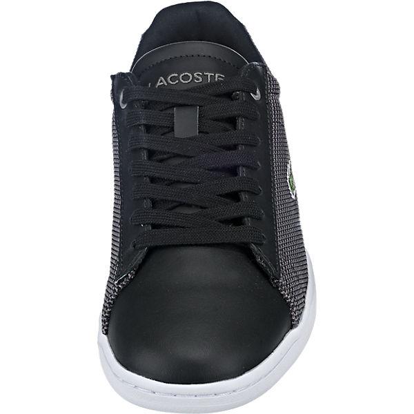 LACOSTE LACOSTE Carnaby Evo Sneakers schwarz