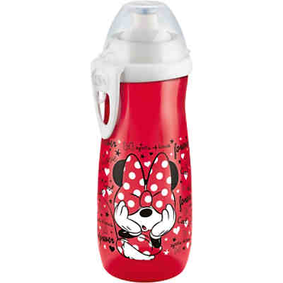 Trinkflasche Sports Cup, PP, 450 ml, Push-Pull-Tülle, Disney Mickey