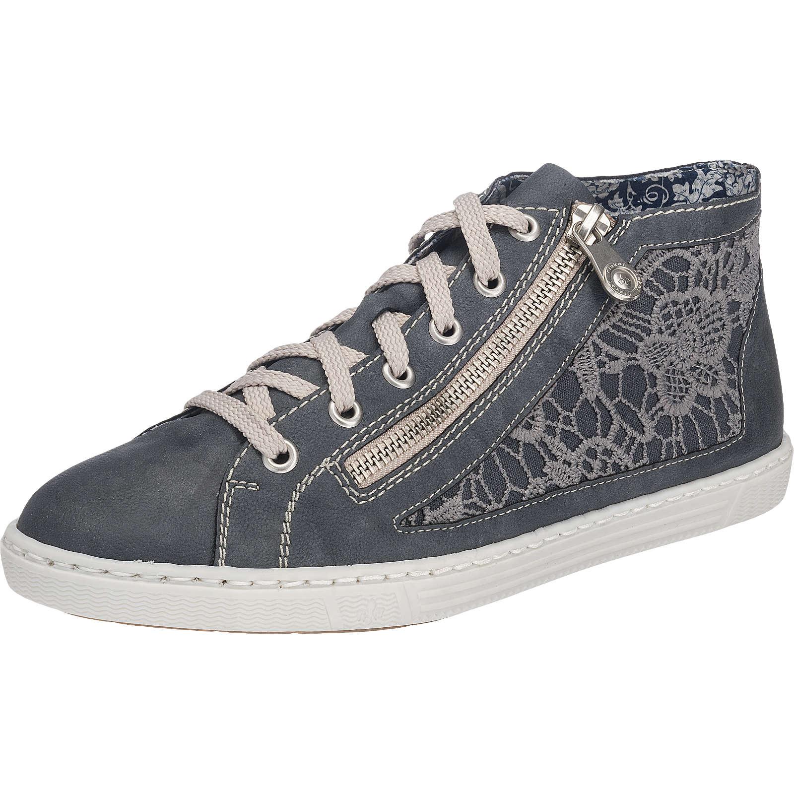 rieker Sneakers blau Damen Gr. 38