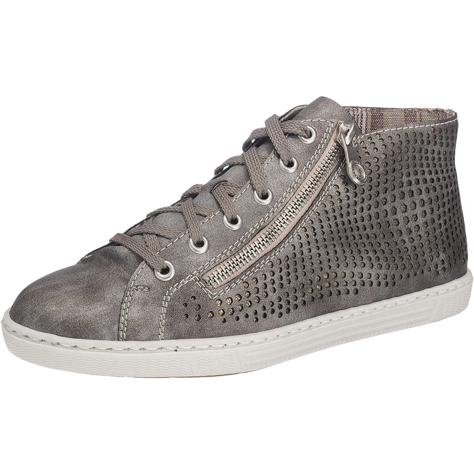 rieker Sneakers grau Damen Gr. 38