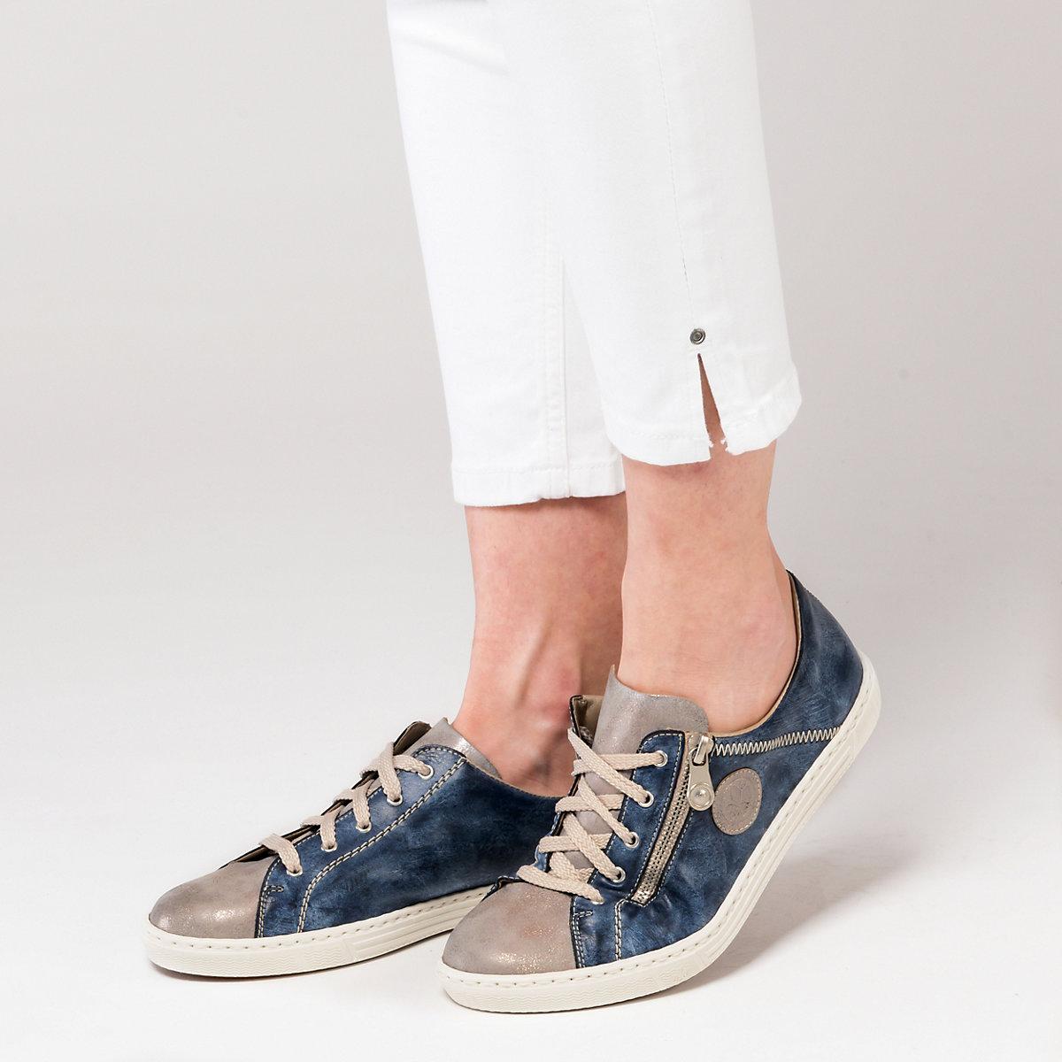 Rieker, Rieker Sneakers, Blau-kombi