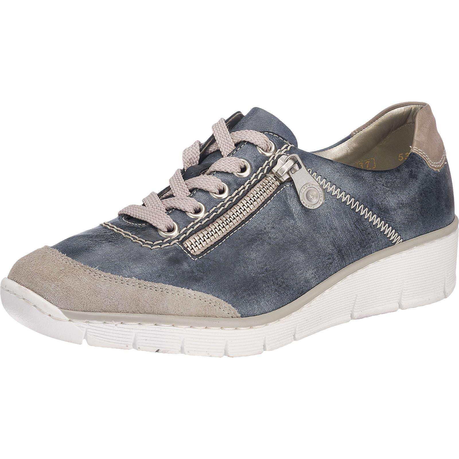 rieker Sneakers blau-kombi Damen Gr. 38