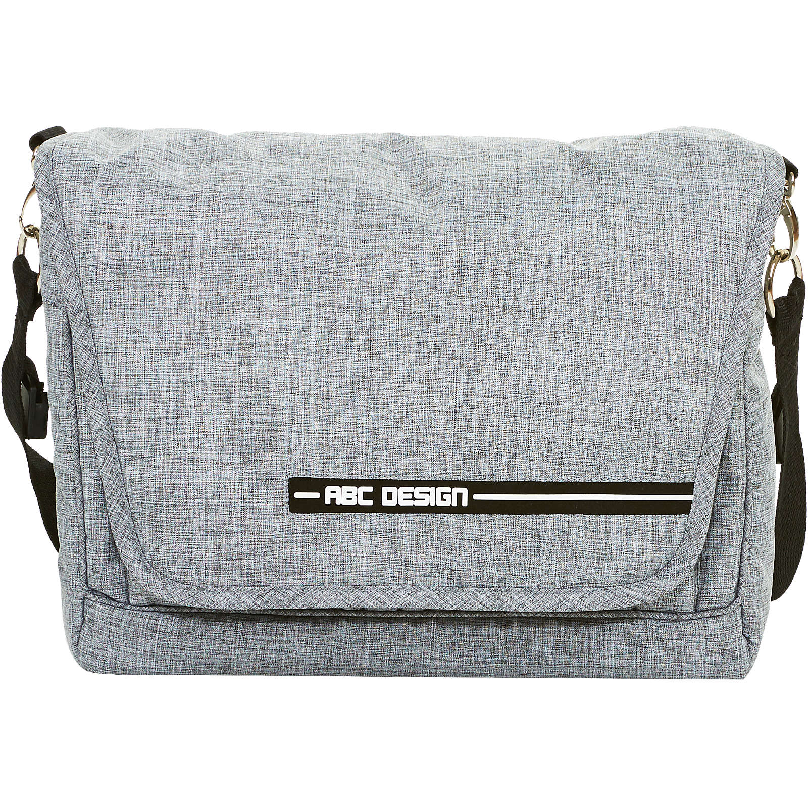 ABC Design Wickeltasche Fashion, graphite grey hellgrau